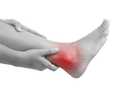 Acupressure for Ankle pain