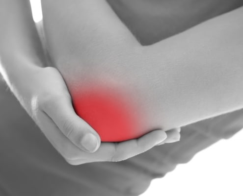 Acupressure elbow pain