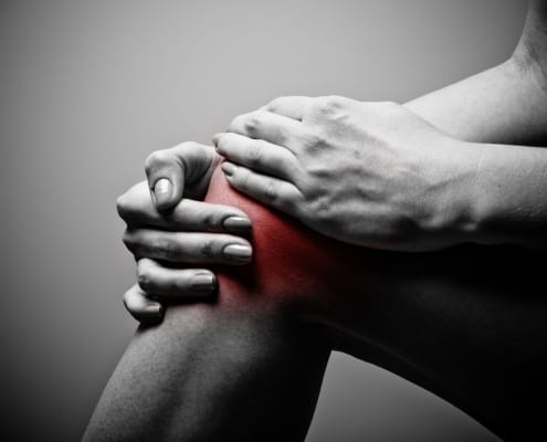 acupressure knee pain