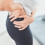 Acupressure for buttock pain