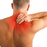 Acupressure for upper back pain
