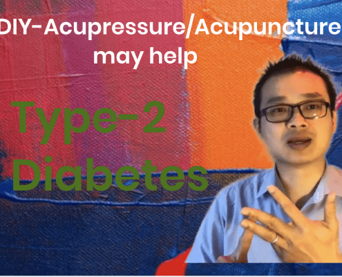 acupressure for type 2 diabetes