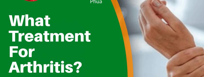 What Treatment For Arthritis