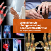 What lifestyle changes can help people with arthritis