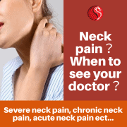 neck pain - when to see your doctor