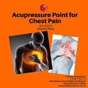 Acupressure Point for Chest Pain