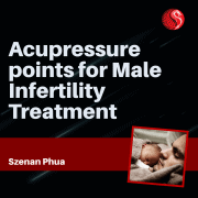 Acupressure for male infertility treatment