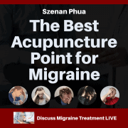 Best acupressure point for migraine