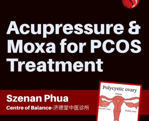 acupressure and moxa for pcos treatment