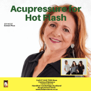 Acupressure for Hot Flashes