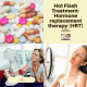 Hot flashes - hormone replacement therapy