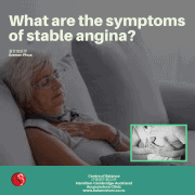 Symptoms of stable angina