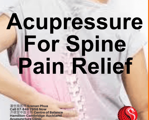 Acupressure for Spine Pain