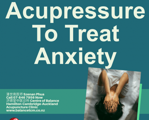 Acupressure for Anxiety