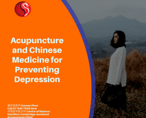 Acupuncture and Chinese medicine for Preventing Depression