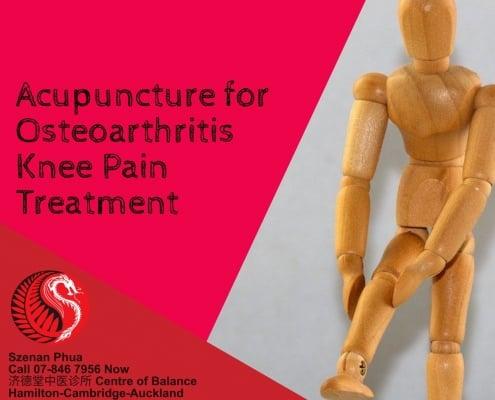 Acupuncture for Osteo Arthritis