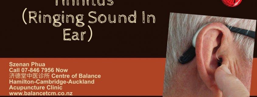 Tinnitus - Ringing Sound in ear