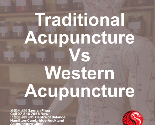 Traditional Acupuncture verses Western Acupuncture
