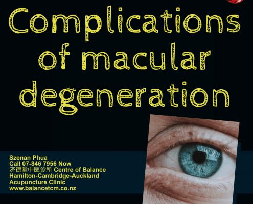 Complications of Macular Degeneration
